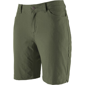 Patagonia Skyline Traveler Shorts Femme, kale green